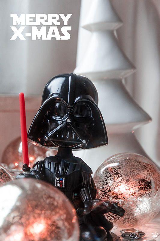 Santa Vader wishes you a merry X-Mas