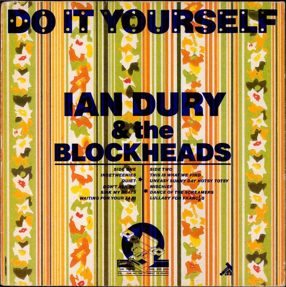 Ian dury the blockheads do it yourself album covers pinterest ian dury the blockheads do it yourself solutioingenieria Image collections