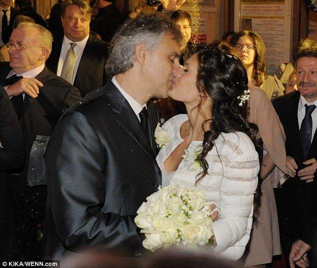 Andrea Bocelli Marries Veronica Berti In Romantic Tuscan Ceremony Celebrity Weddings Veronica Italian Wedding