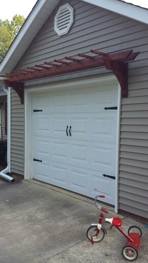 Magnetic Garage Door Hardware Carriage Door With Pergola Easy
