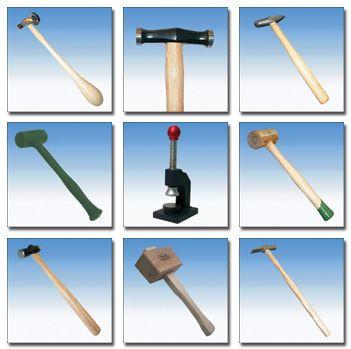 Hammer - Hammer, Ball Pein Hammer, Chasing Hammer, Jewelers Hammer, Mallets, Peddinghaus Hammer, Plastic & Nylon Hammer, Jewelers Hammer, Mallets, Riveting Hammer,Silversmith - @Progresstool.com
