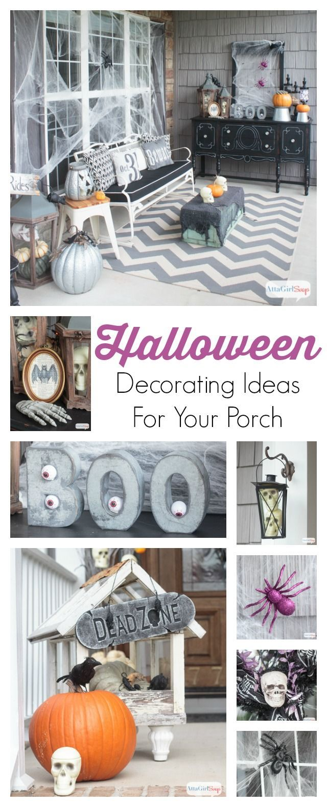 Scary Halloween Decorations for Your Front Porch Gothic horror - Spooky Halloween Decorations