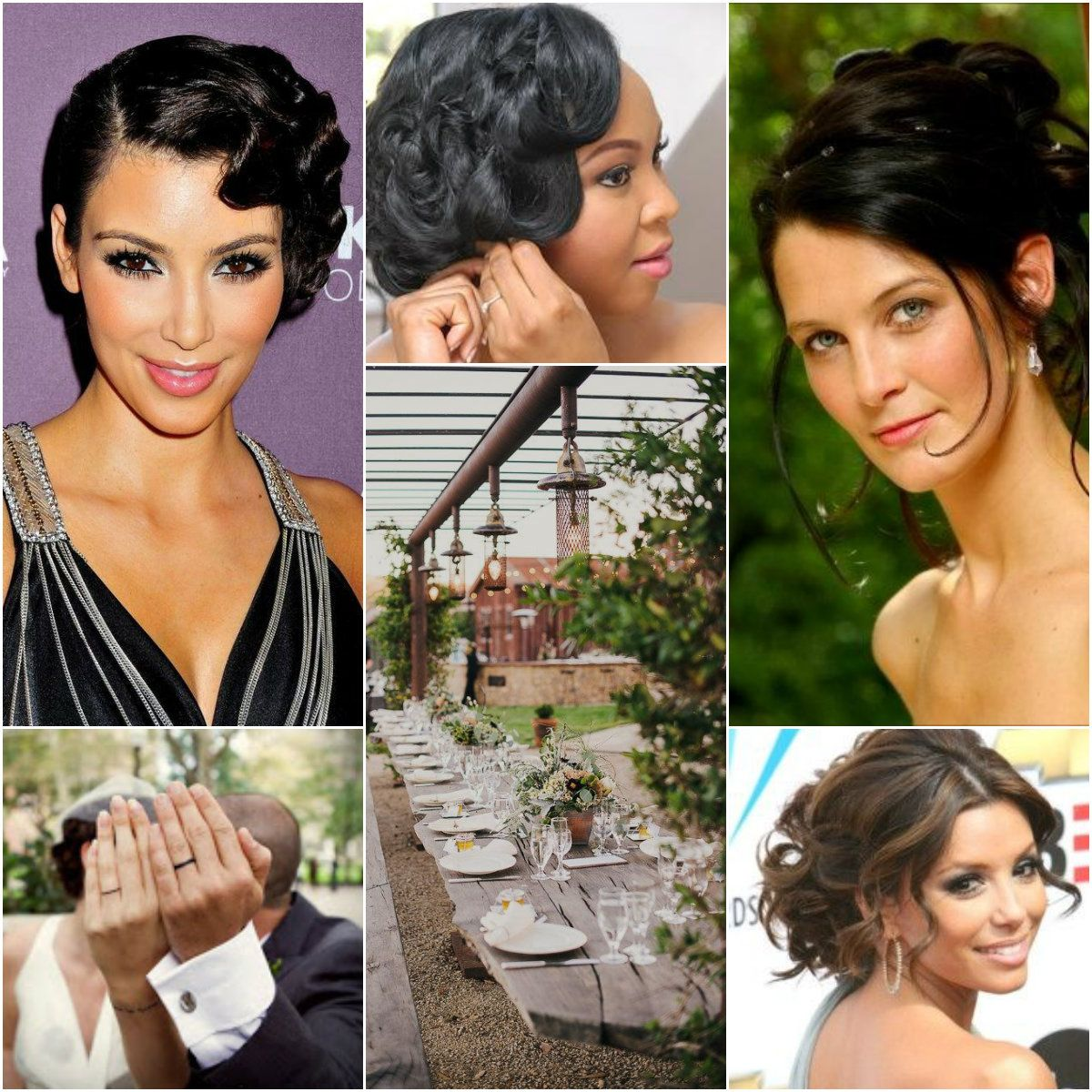 simple up do hair with twists for bridesmaid #updo #twists #rpgshow