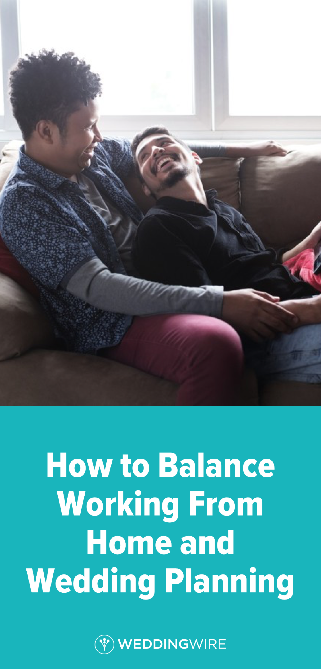 How to Balance Working From Home and Wedding Planning