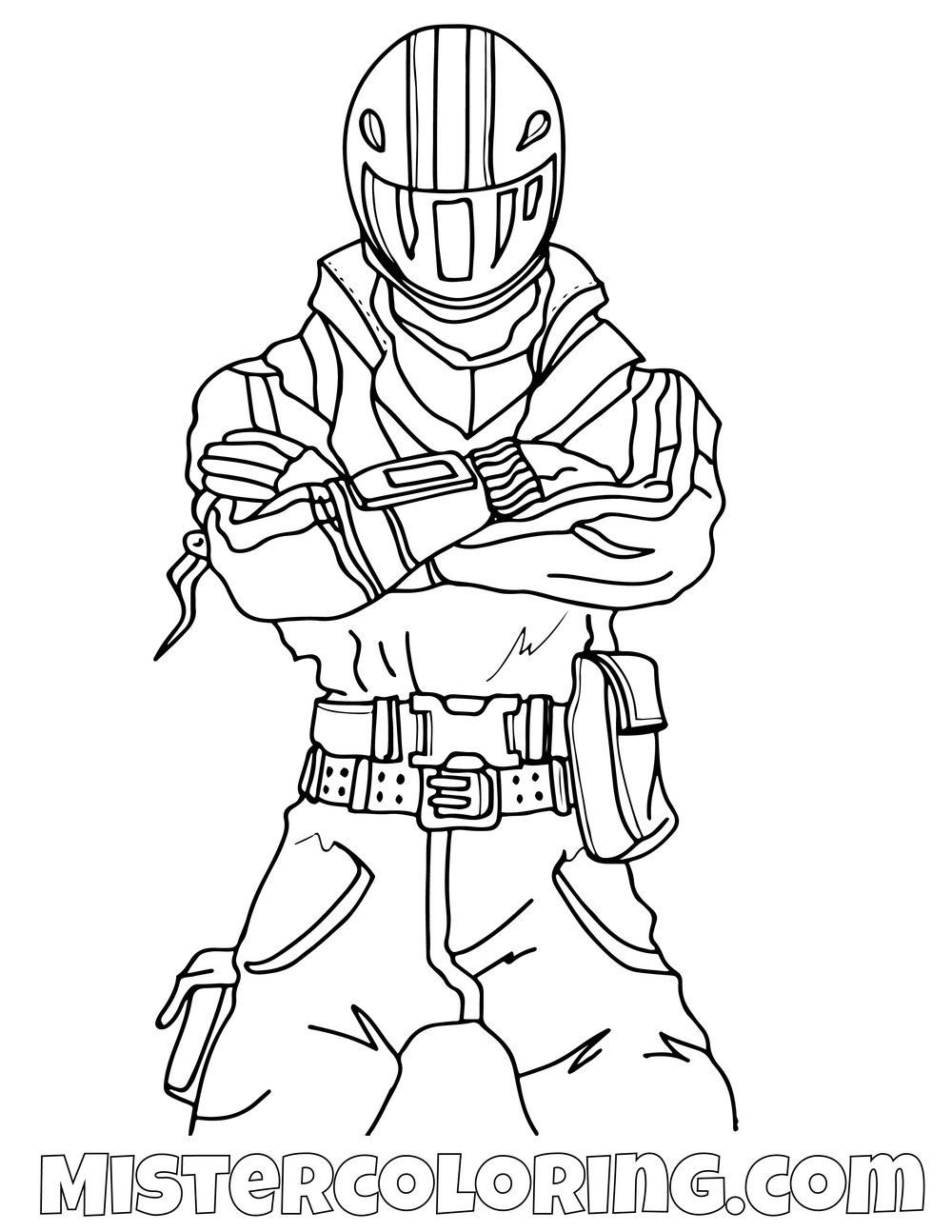 Night Rider Fortnite Coloring Page Coloring Pages For Kids Coloring Pages Coloring Pages For Boys