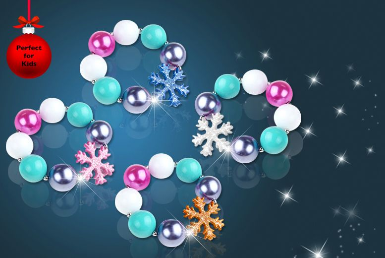 Kids' Snowflake Bracelet - 4 Colours!