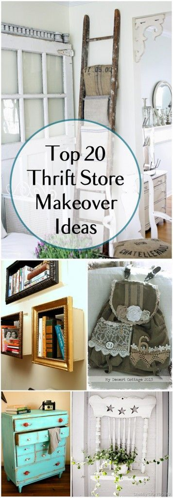Ideas : Top 20 Thrift Store Makeover Ideas