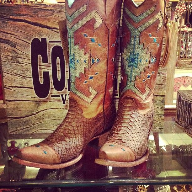 Shelby's wedding How amazing are these Corral Boots?!