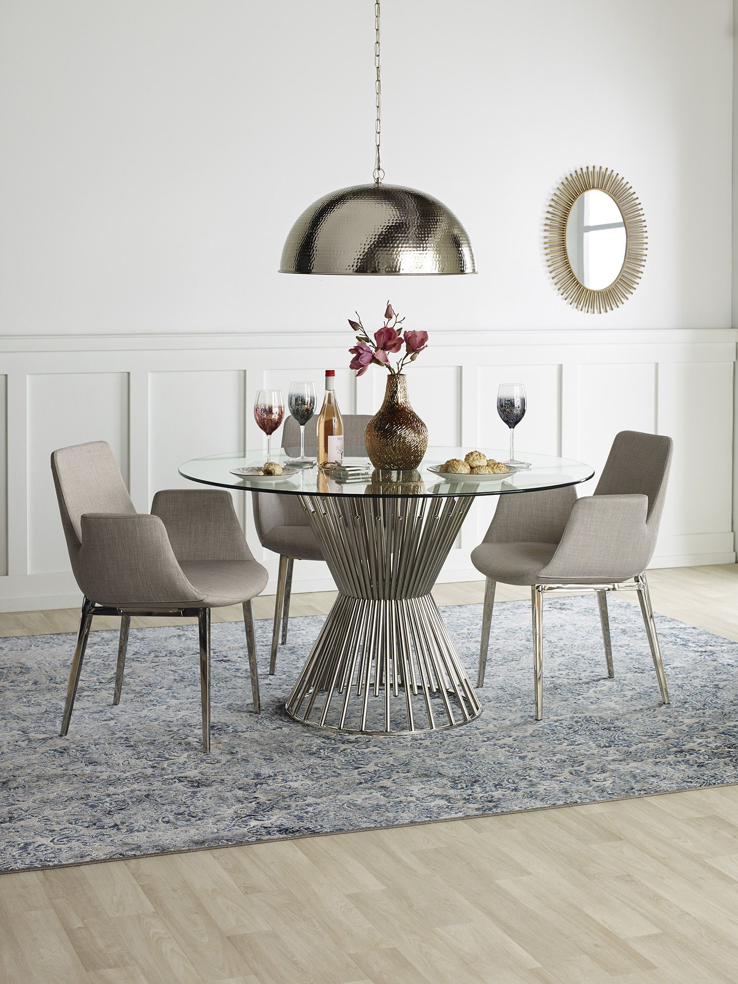 dine in style with the carlisle dining table from urban barn decor rh pinterest com