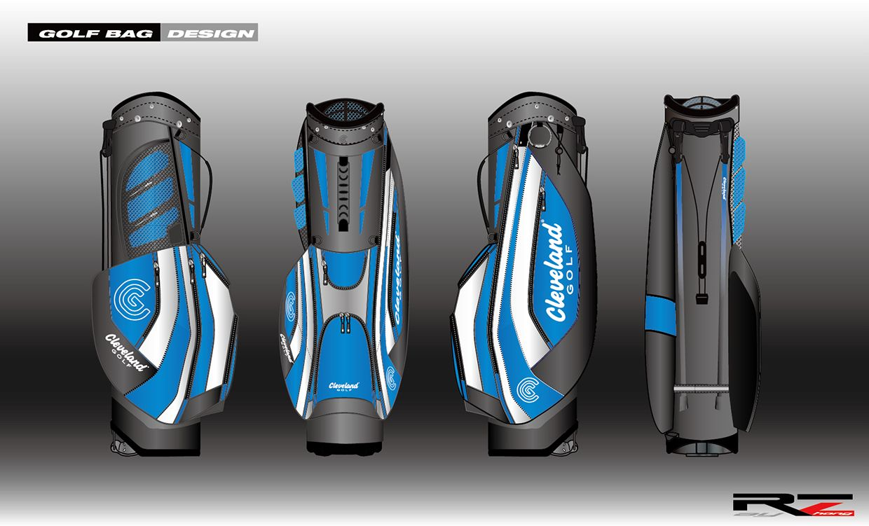 GOLFBAG DESIGN_01 on Behance