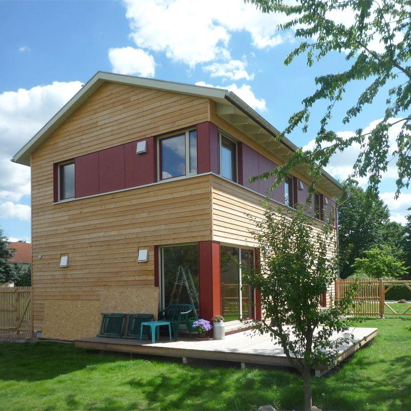 Holzhaus Jena » Beispielhaus Holzhaus, Haus, Holzfassade