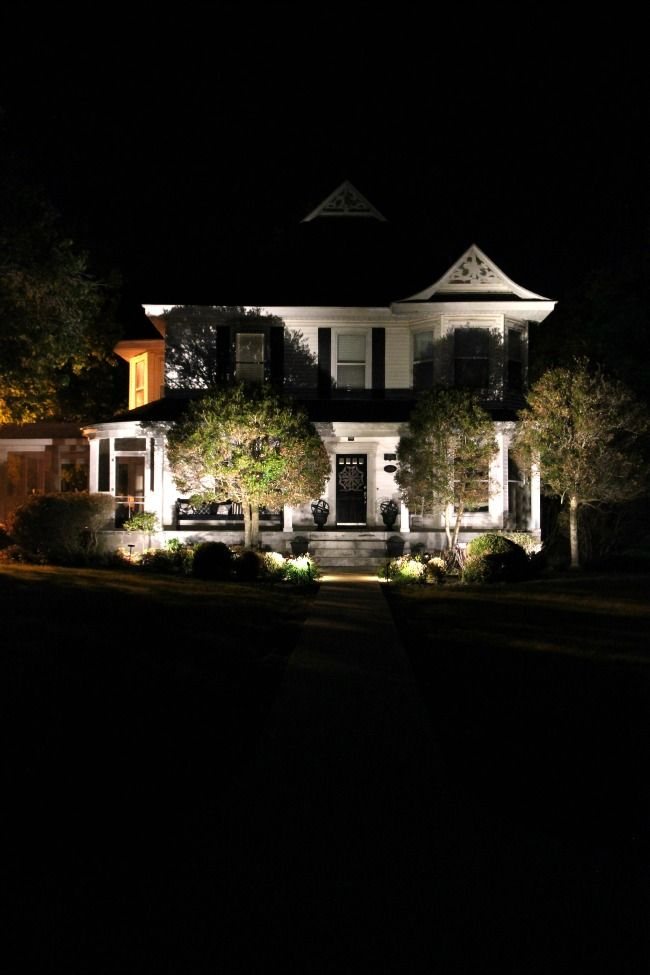 Simple Landscape Lighting Ideas Thistlewood Farm Landscape