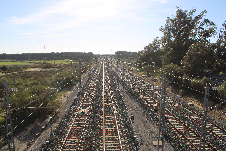 estación de ferrocarril de Las Aletas en Puerto Real