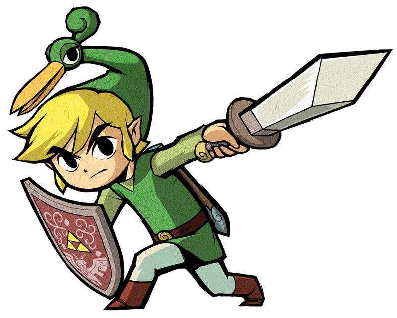 /Minish Cap/#175527 - Zerochan | The Legend of Zelda: The Minish Cap (Game Boy Advance, 2004), Toon Link and Ezlo