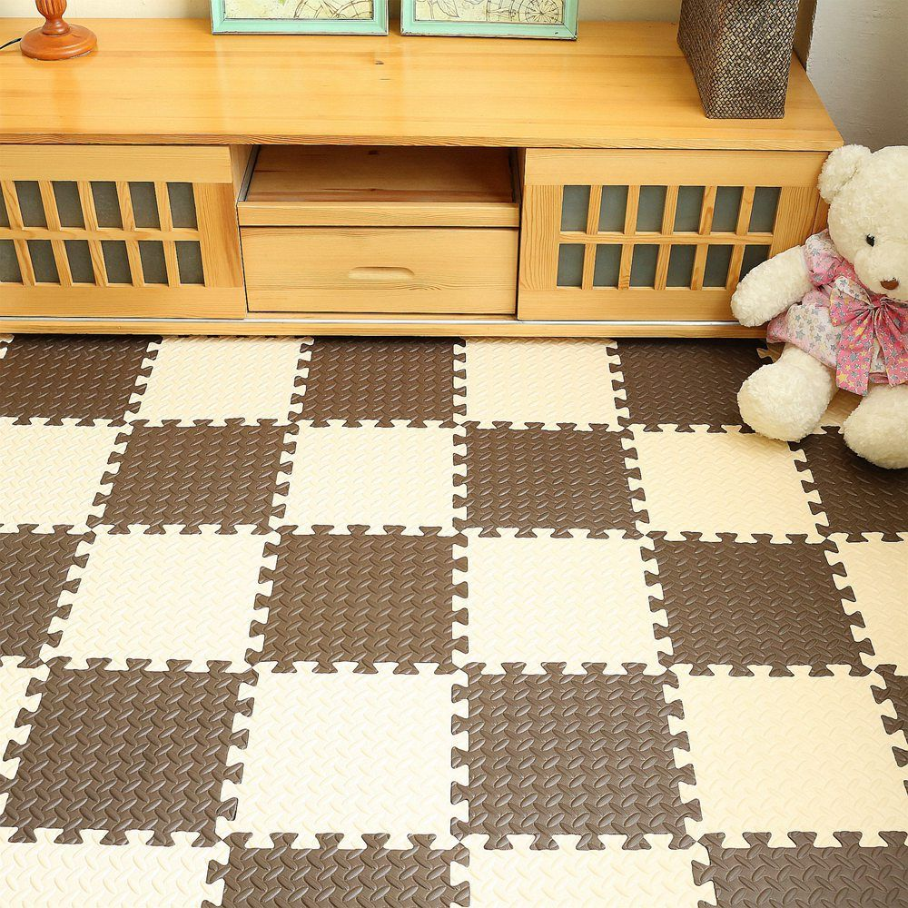 DIY Baby EVA Foam Play Puzzle Mat Interlocking Exercise Tiles Floor ...