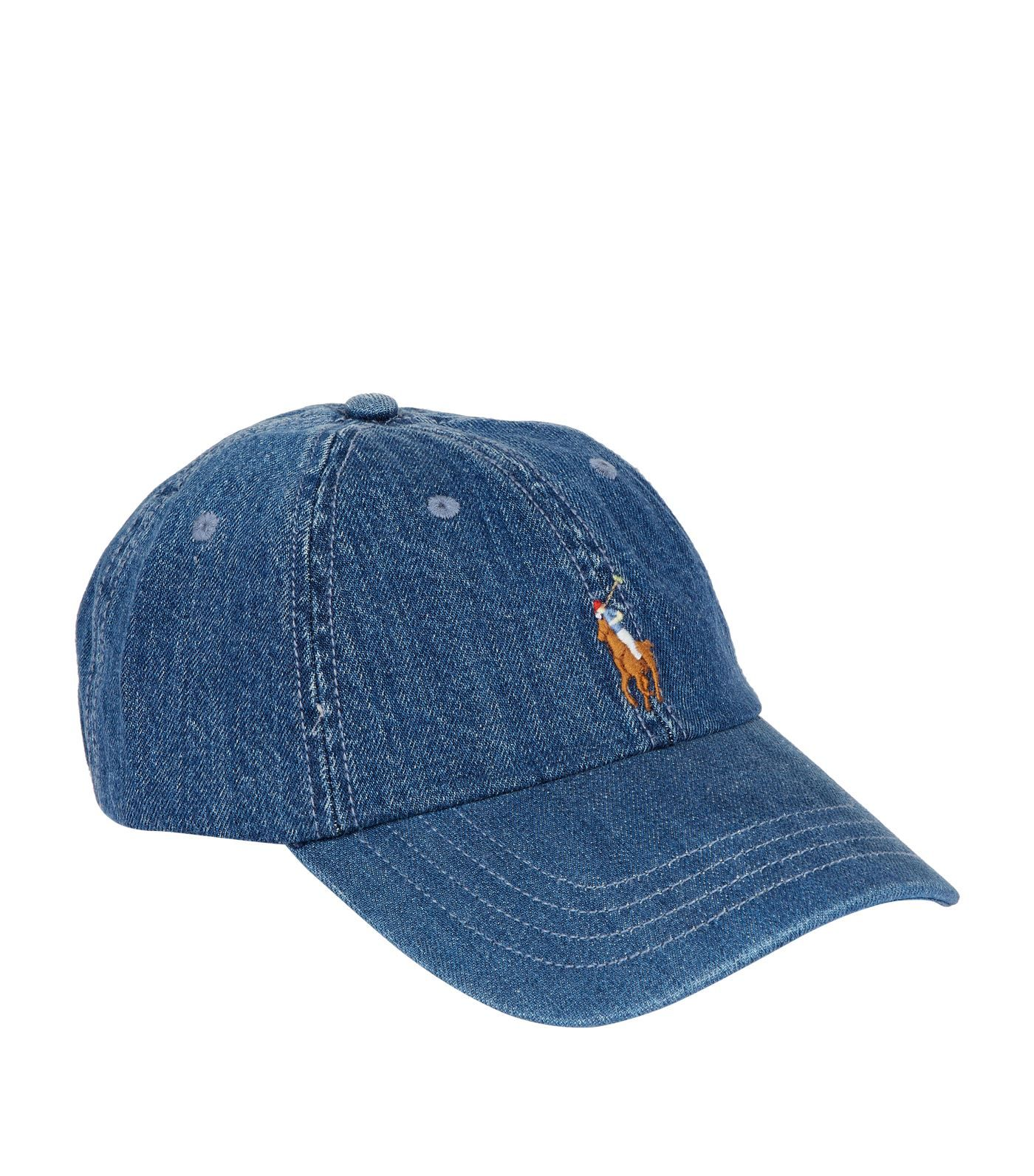 POLO RALPH LAUREN DENIM POLO PONY CAP.  poloralphlauren  b82d795f21ec