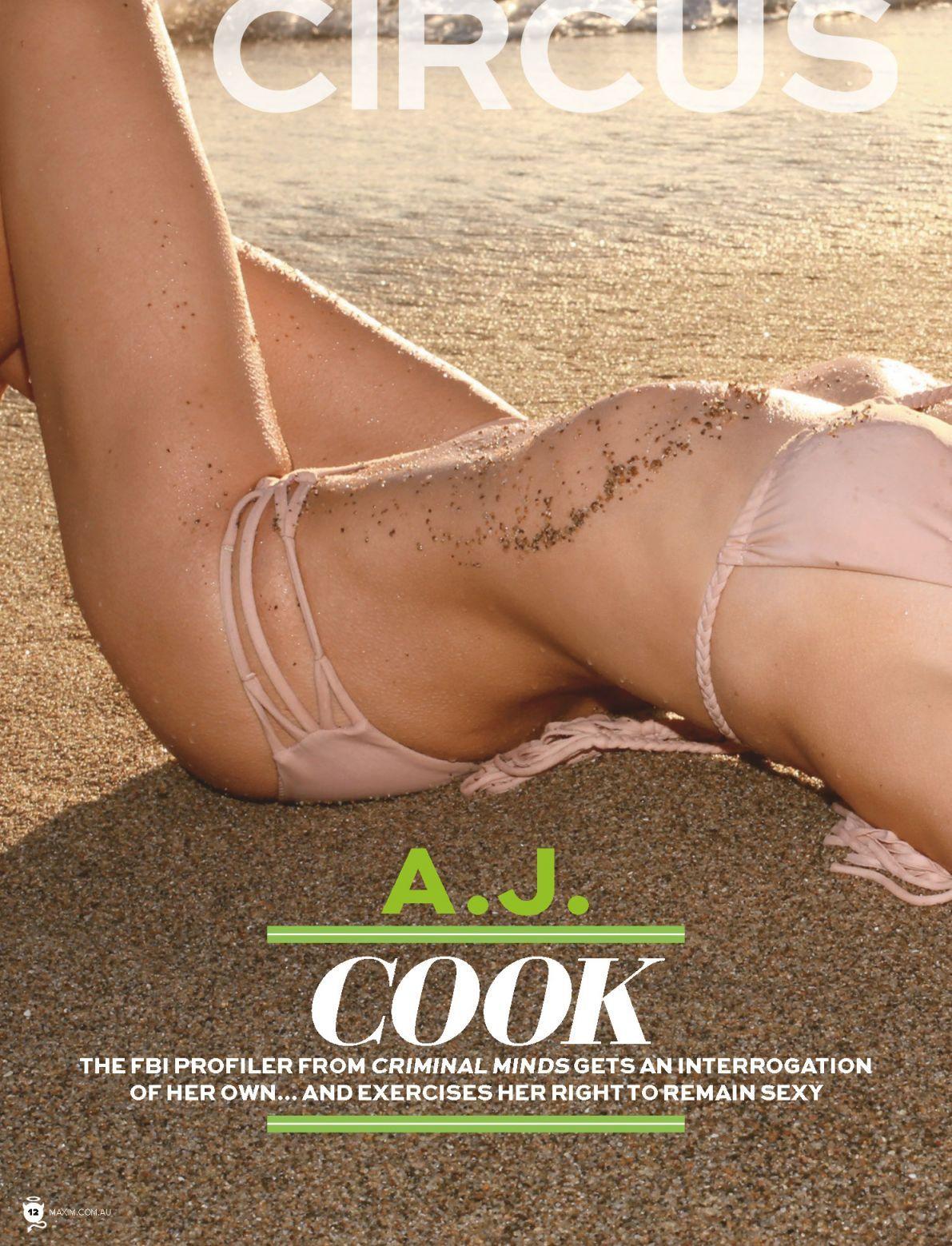 Andrea Joy Cook - Maxim (Australia) June 2014 708911   Aj cook, Cooking, Criminal minds