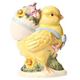 Spring Chick Cookie Jar