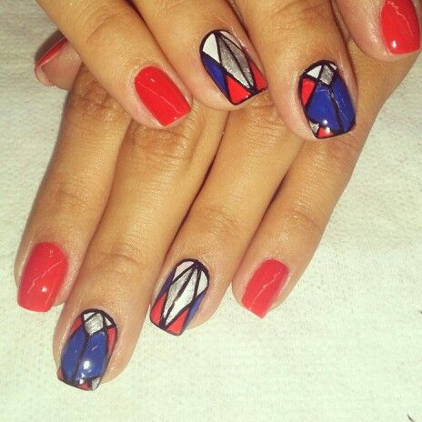 Nail art...