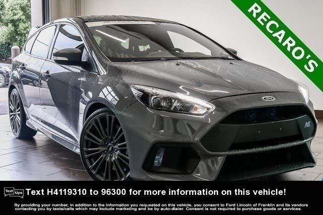2017 Ford Focus Rs Hatchback 34 976 Ford Focus Focus Rs Ford