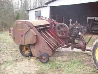 New Holland Super 77 Baler Old Farm Equipment Farm Equipment Vintage Farm