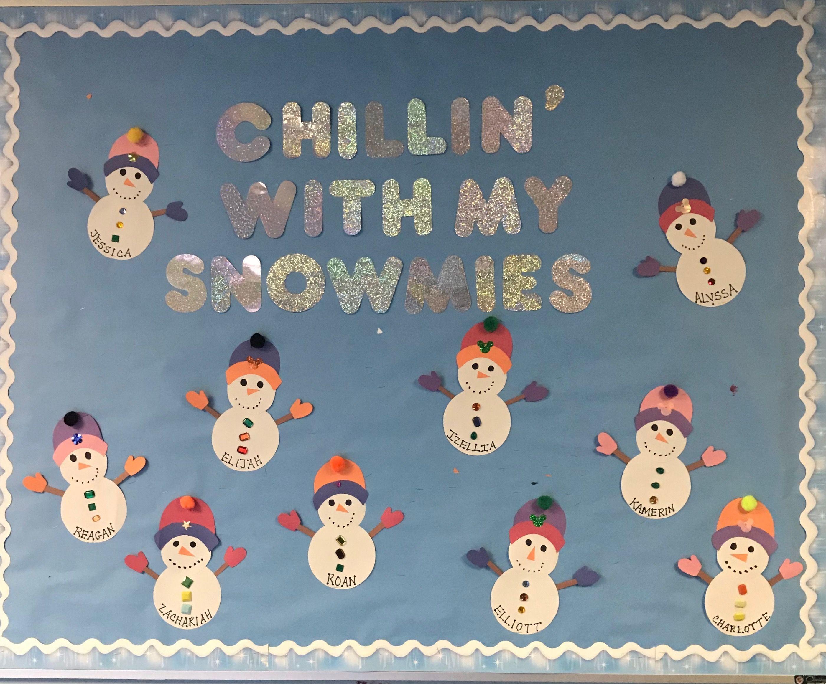 Winter Bulletin Board Christmas Boards