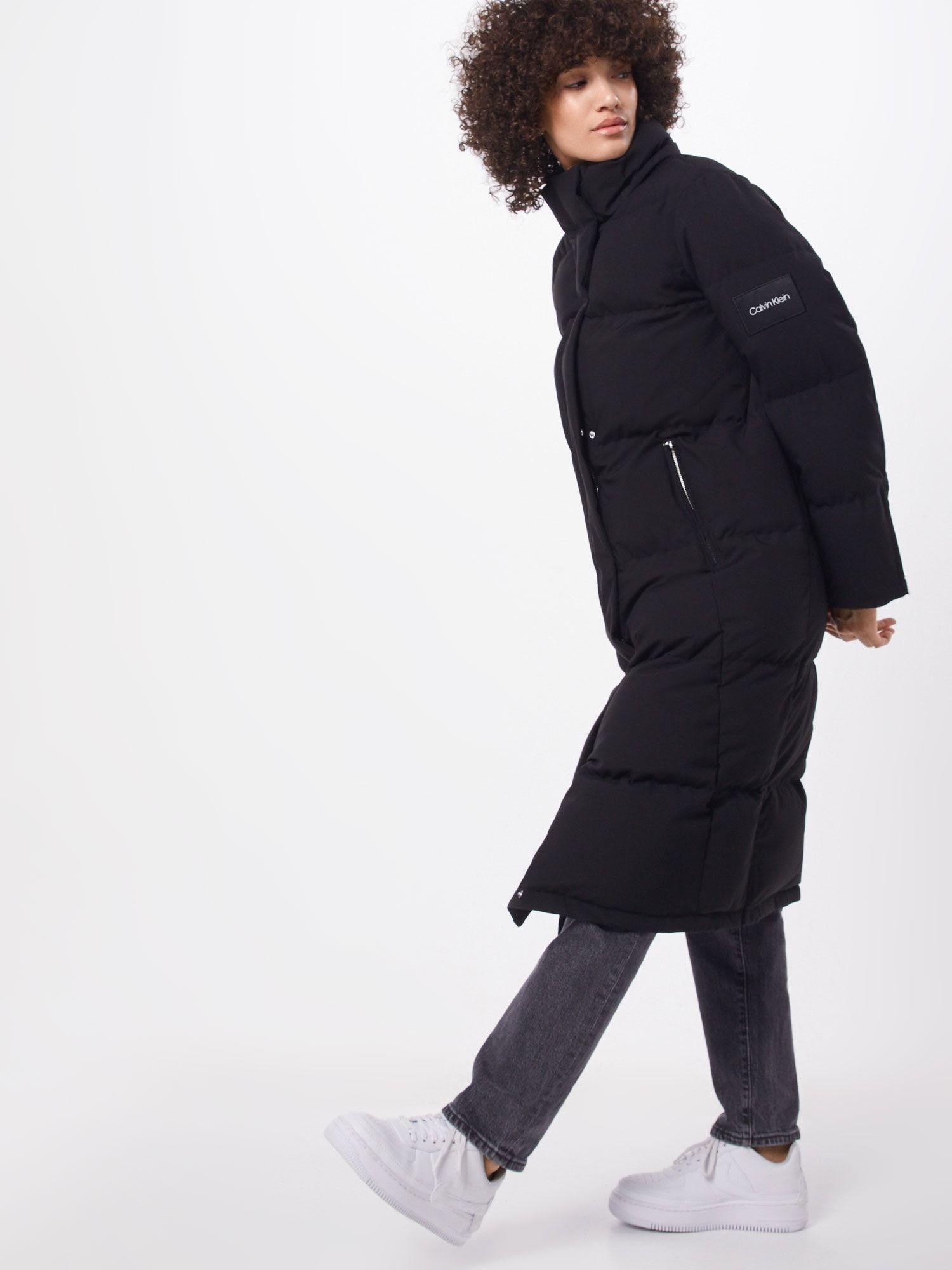 Calvin Klein Mantel Damen Schwarz Grosse Xl Mantel Damen Mantel Und Damen