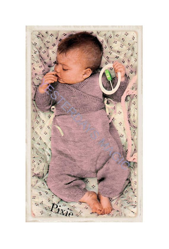 a8248c3eb Instant Download PDF Knitting Pattern to make Baby Baggy Pants ...