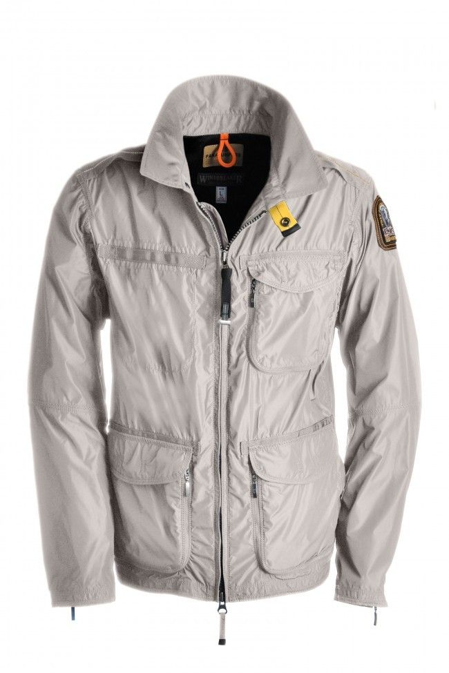 Parajumpers TRUMAN Series Autumn/Winter Jackets Outlet White Men