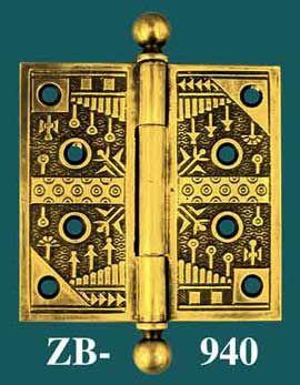 Reproduction Antique Br Door Hinges
