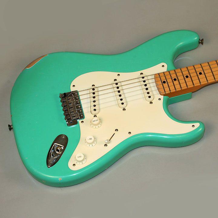 seafoam green fender guitars pinterest fender guitars and guitars. Black Bedroom Furniture Sets. Home Design Ideas