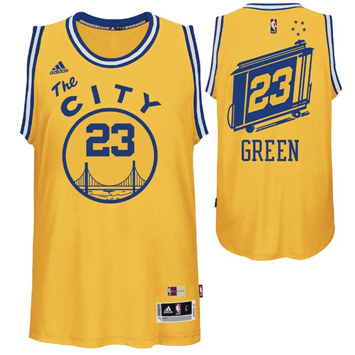 Draymond Green Jersey  adidas Hardwood Classics  The City   23 Swingman  Jersey - Gold - Golden State Warriors - Official Online Store 0ad934901