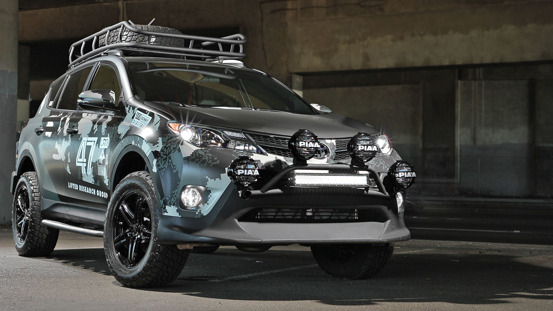 The Dub Edition Lrg Rav4 Was Revealed In Atlanta At The