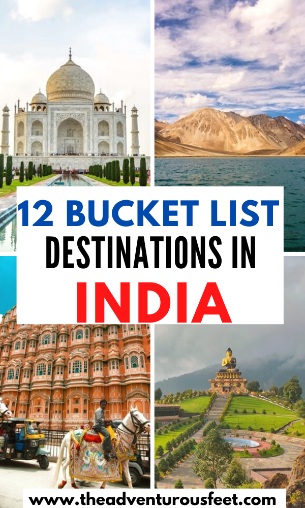 12 Best Places To Visit In North India The Adventurous Feet Cool Places To Visit Travel Destinations In India India Travel Places