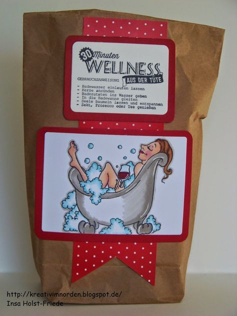 Geschenk basteln wellness