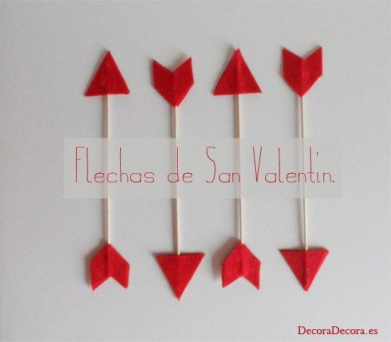 Decorar Con Flechas Para San Valentin Manualidades Pinterest - Decorar-para-san-valentin