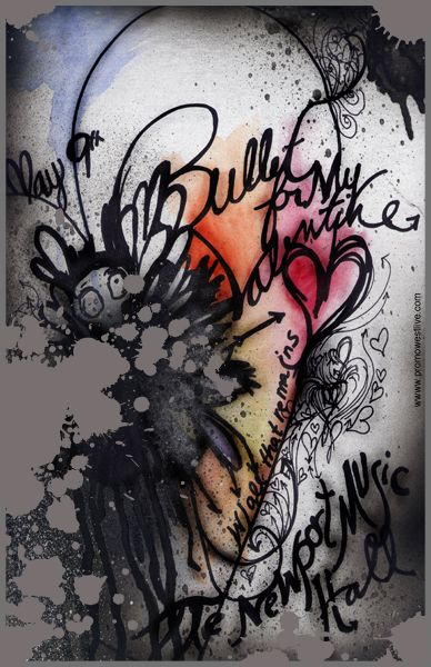 Bullet For My Valentine This Would Make A Bad Ass Tattoo Give Me