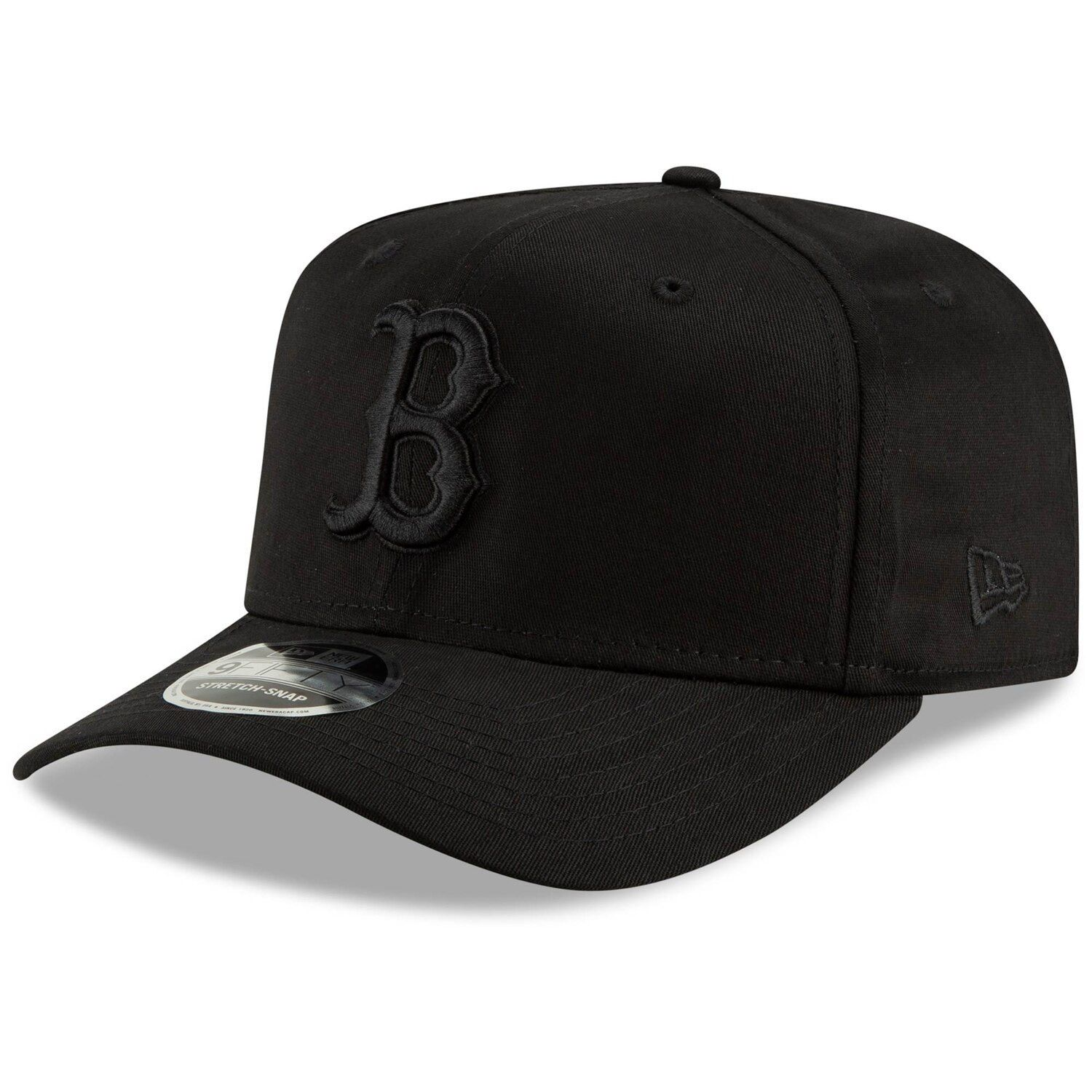 Boston Red Sox New Era Blackout 9fifty Adjustable Snapback Hat Black Snapback Hats Boston Red Sox Red Sox