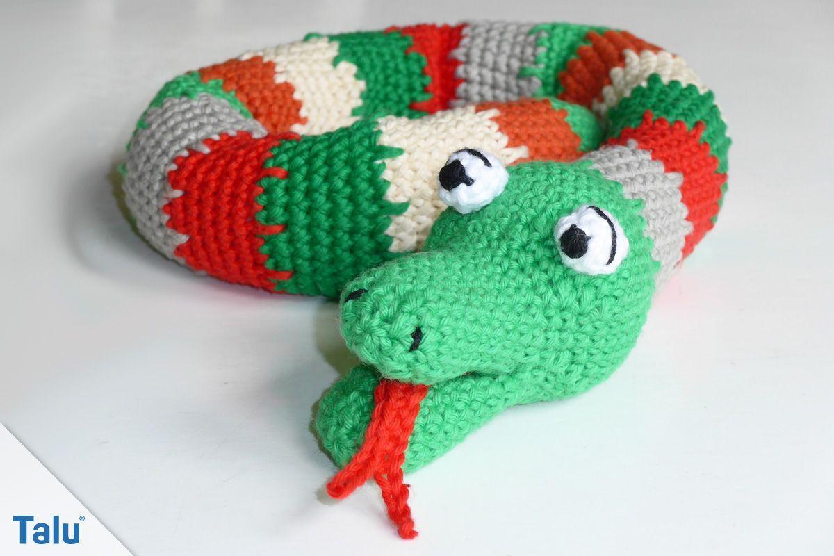 Schlange Hakeln Kostenlose Amgiurumi Anleitung Talu De Menscrochetedhats Aus Wollresten Kann Man Super Eine S Crochet Projects Crochet Accessories Crochet