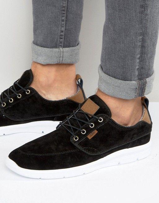 66d369f986c244 Vans Brigata Lite Sneakers In Black VA2Z5LJWH