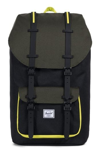 HERSCHEL SUPPLY CO. LITTLE AMERICA BACKPACK - GREEN.  herschelsupplyco.   bags  backpacks   70326756c688a