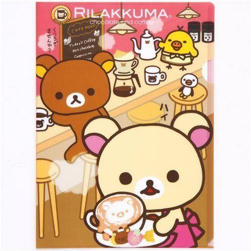rilakkuma bear coloring pages - photo#42