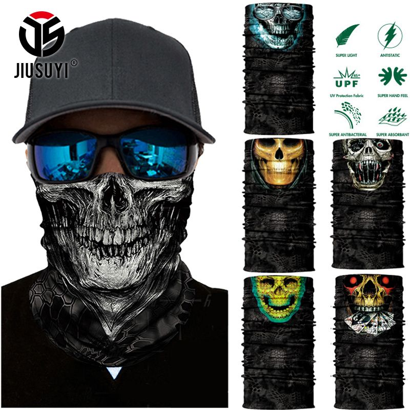 Chenhc Headbands Headwear Patriotic Bandana Sweatband Neck Gaiter Head Wrap Outdoor Mask