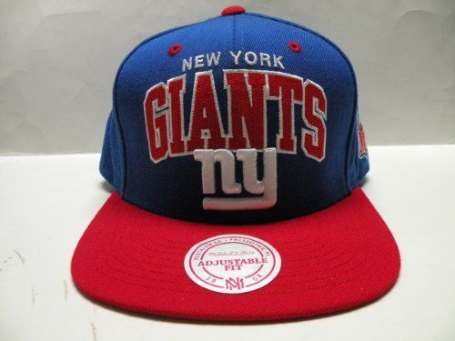 f4afcd455d8 Mitchell and Ness NFL New York Giants 2 Tone Retro Snapback Cap by Mitchell    Ness