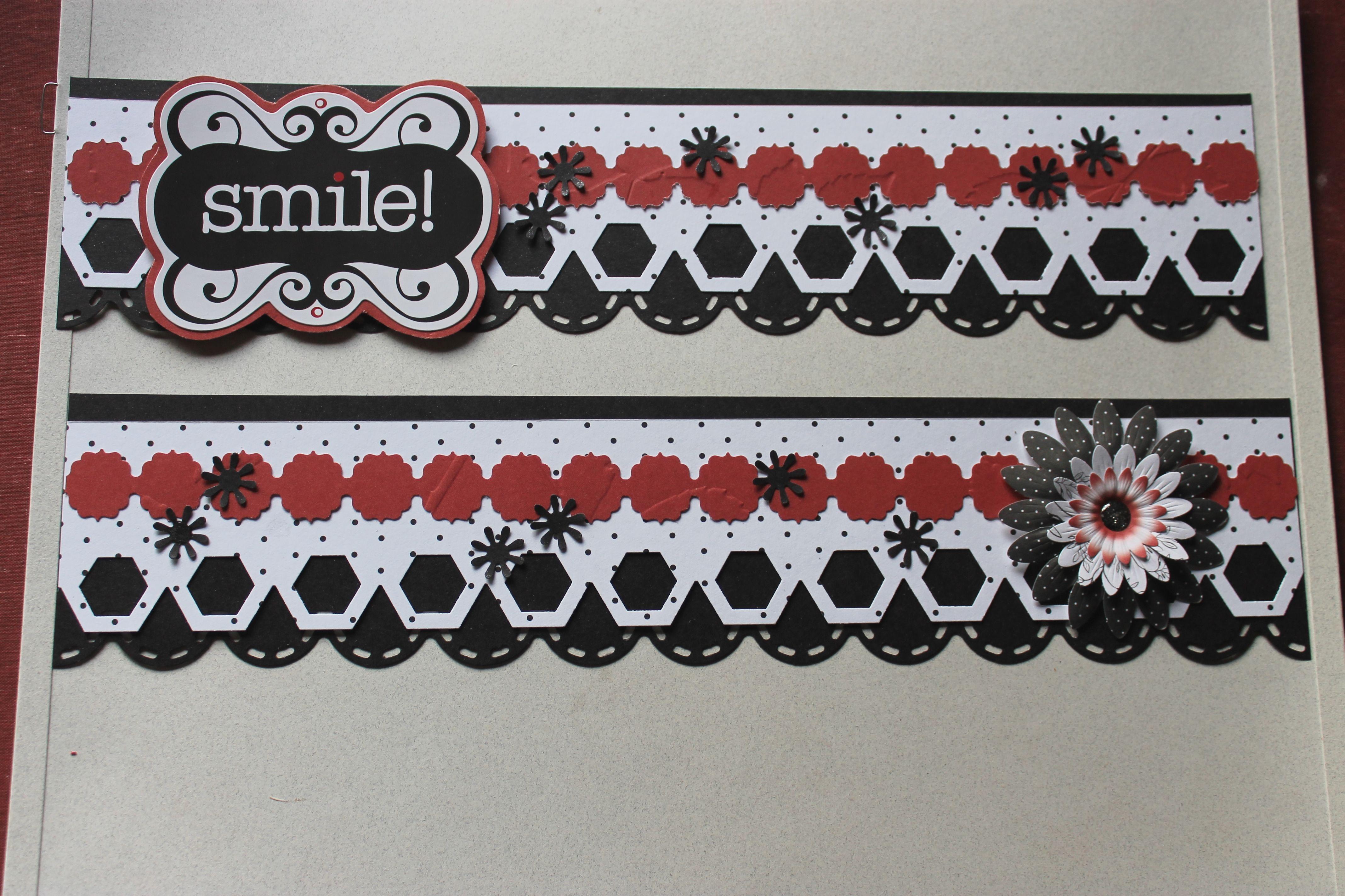 Enchanted PP Paper, Frame Chain, Hexagon, Scallop Stitch Border Maker  Cartridges