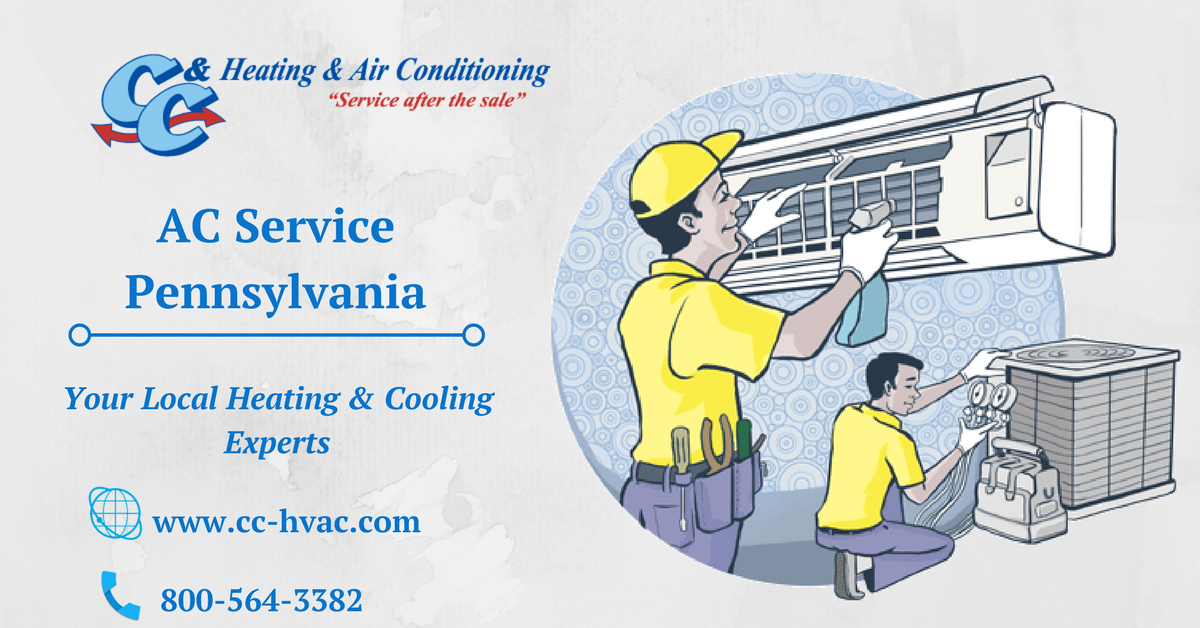 C C Heating Air Conditioning Has Been Providing Ac Service In