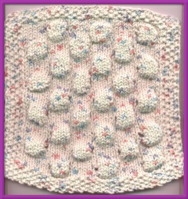 Knit Stitch Of The Week Bubble Wrap Stitch I See This As A Baby