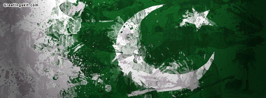 Pakistan Flag Facebook Timeline cover | Pakistan flag ...