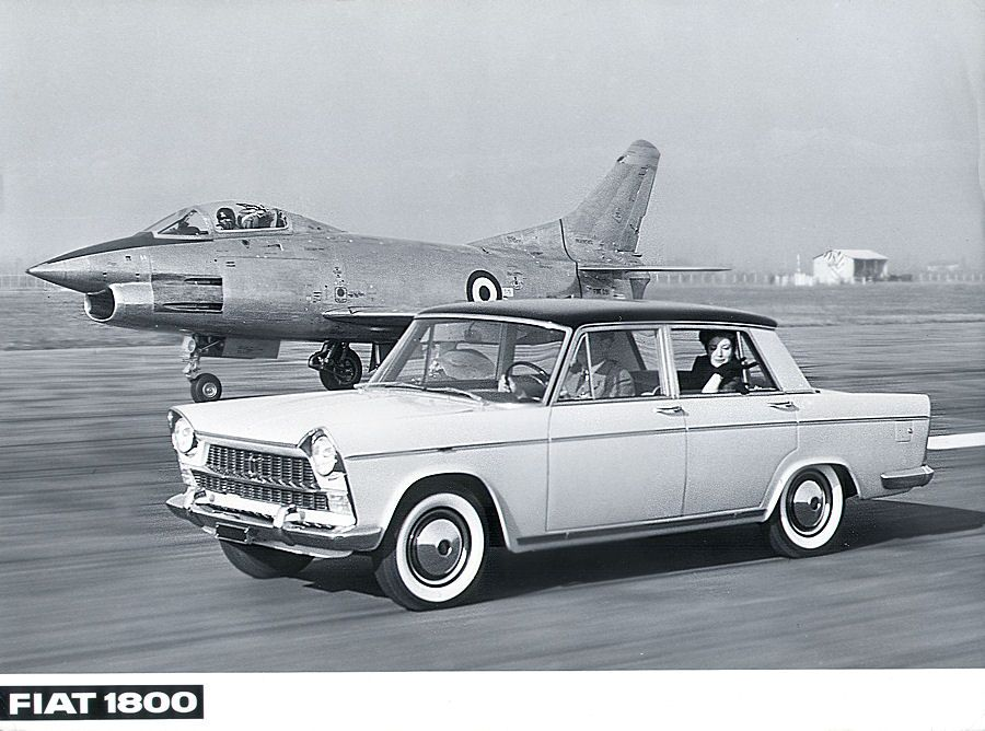 1959 Fiat 1800 - My parents married with this cerimony car on 1964