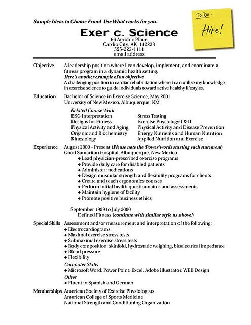 How to Write a Resume that Gets the Interview Sample resume and